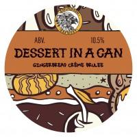 Amundsen Brewery Dessert In A Can - Gingerbread Crème Brulee