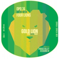 Four Lions / OPO 74 Gold Lion
