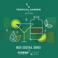 Cierzo Beer Cocktail Series: Tropical Garden