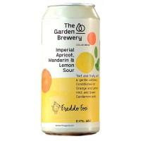 The Garden Brewery / Freddo Fox Imperial Apricot, Mandarin & Lemon Sour