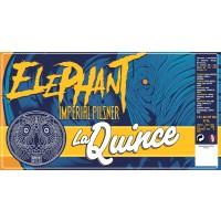 La Quince Elephant Imperial Pilsner