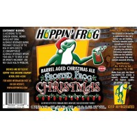 Hoppin' Frog Barrel Aged Frosted Frog Christmas Ale