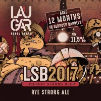 Laugar LSB 2017 Lisergic Strong Beer