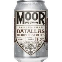 Moor / La Quince Batallas Double Stout Whisky BA