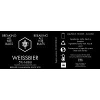 Fábrica Maravillas Weissbier