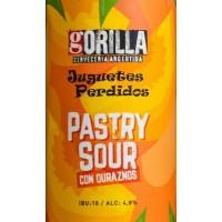 Gorilla / Juguetes Perdidos Pastry Sour Con Duraznos