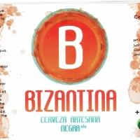 Bizantina Cerveza Artesana Negra Ale