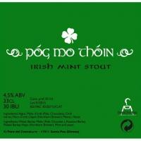 Santa Pau Póg Mo Thóin Irish Mint Stout