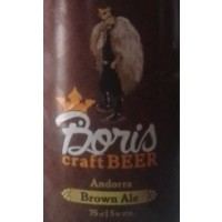 Boris Craft Beer Brown Ale