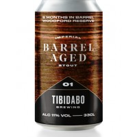 Tibidabo Brewing Barrel Aged 1 - Woodford Reserve