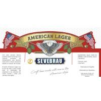 Sevebrau American lager