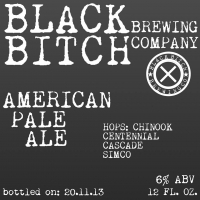 Black Bitch American Pale Ale 2013