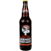 Stone Arrogant Bastard Ale Bourbon Barrel
