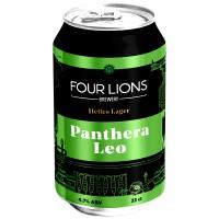 Four Lions Panthera Leo