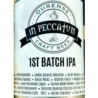 In Peccatum 1st Batch IPA