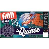 La Quince God Save Extra Pale Ale