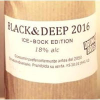 Drunken Bros Black & Deep 2016 Ice-bock Edition