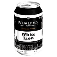 Four Lions White Lion