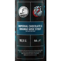 Sesma / Falken Imperial Chocolate & Orange Gose Stout