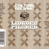 Evil Twin Lidkoeb Pilsner