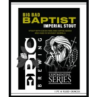 Epic Brewing Big Bad Baptist