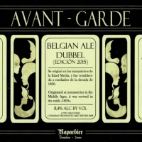 Naparbier Avant - Garde Belgian Ale Dubbel ( Edición 2015 )