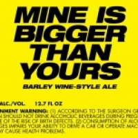 To Øl Mine Is Bigger Than Yours