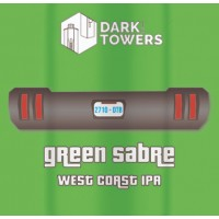 Dark Towers Green Sabre