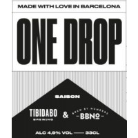 Tibidabo Brewing / Brew By Numbers One Drop