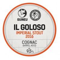 Guineu / Toccalmatto Il Goloso Imperial Stout 2016 Cognac Barrel Aged