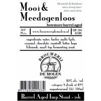De Molen Mooi & Meedogenloos Bowmore barrel aged