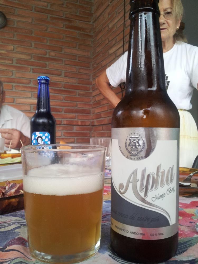 una cerveza alemán