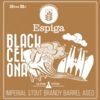 Espiga Black Cel Ona Imperial Stout Brandy Barrel Aged