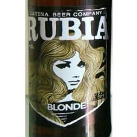 Latina Beer Company Rubia
