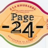 Page 24 a la Rhubarbe