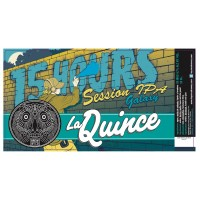 La Quince 15 Hours Session IPA Galaxy