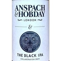 Anspach & Hobday / La Quince The Black IPA