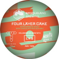 Basqueland Four Layer Cake