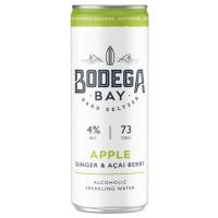 Bodega Bay Hard Seltzer Apple Ginger & Acai Berry