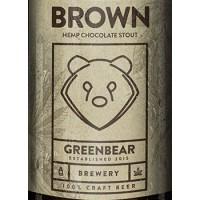 Green Bear Brown Hemp Chocolate Stout