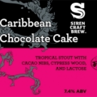 Siren / Cigar City Caribbean Chocolate Cake