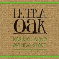 Letra On Oak Barrel Aged Oatmeal Stout