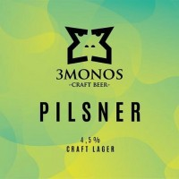 3Monos Pilsner