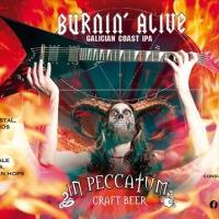 Keltius In Peccatum Burnin' Alive Galician Coast IPA