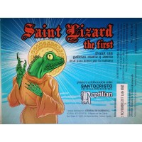 Santo Cristo / Reptilian Saint Lizard the First