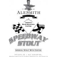 AleSmith Jamaica Blue Mountain Speedway Stout