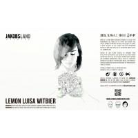 Jakobsland Lemon Luisa Witbier
