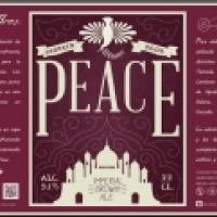 Peace Imperial Brown Ale