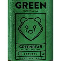 Green Bear Hemp Pale Ale