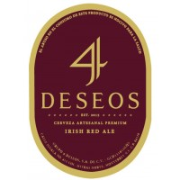 4 Deseos Irish Red Ale